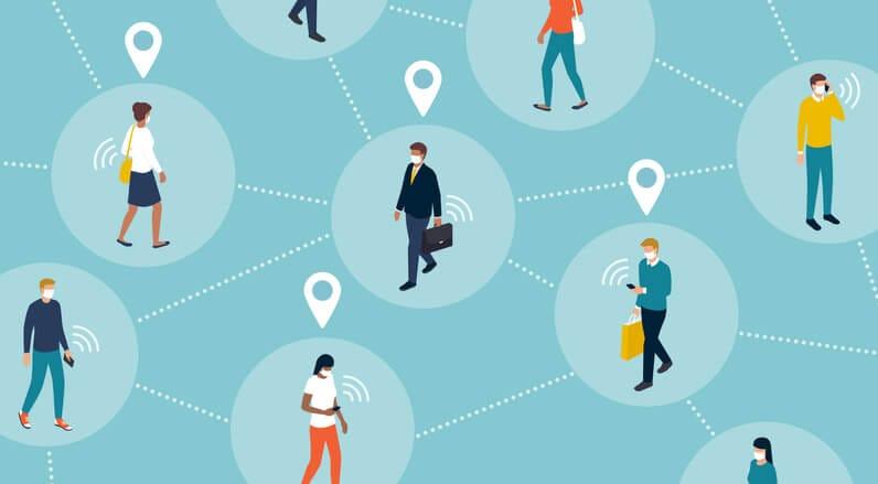 L'app per il contact tracing