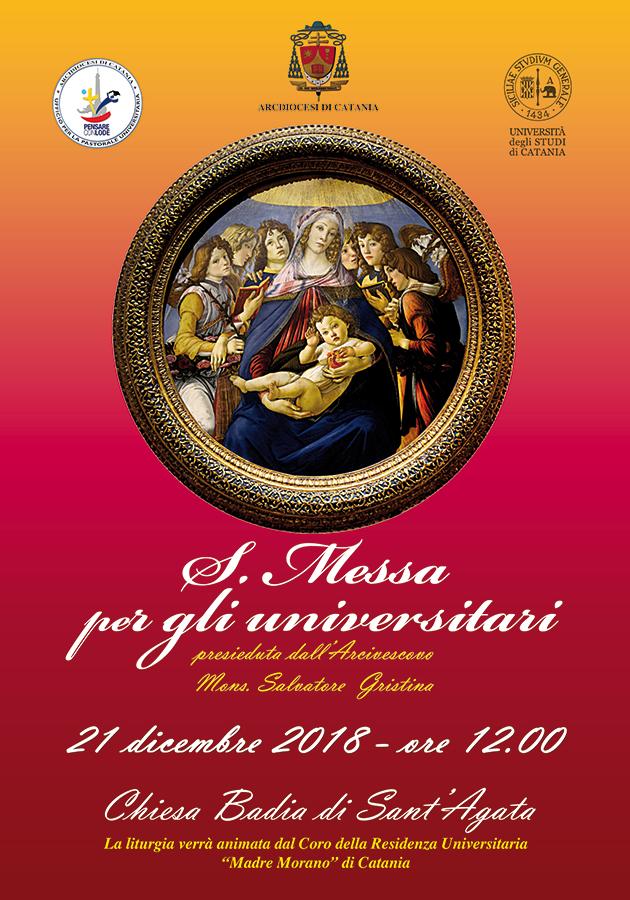 """Locandina che ritrae il quadro """"Madonna della Melagrana"""" di Sandro Botticelli"""