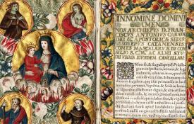 manoscritto giuridico medievale