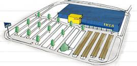 disegno negozio Ikea