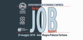 "Banner ""Go to Job Market"""
