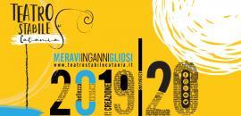 Banner stagione teatro stabile 2019/20