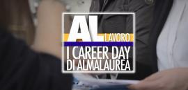 """Logo """"AL Lavoro"""" Almalaurea"""