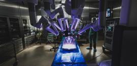Il robot chirurgico da Vinci al Policlinico