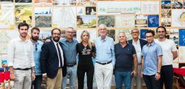 Il gruppo G124 di Siracusa con il senatore Renzo Piano