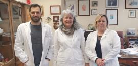 Pietro Zuccarello, Margherita Ferrante e Gea Oliveri Conti