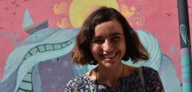 L'artista siriana Diala Brisly