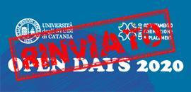 banner open days rinviato
