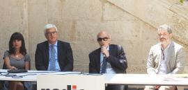 Nella foto da sinistra i docenti Paino, Magnano San Lio, Basile e Castelli