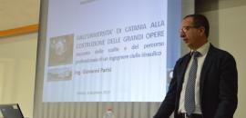 L'ingegnere catanese Giovanni Parisi