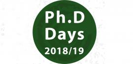 Logo Ph.D Days 2018/19