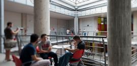 Studenti a Scienze politiche (foto di Antonio Caia)