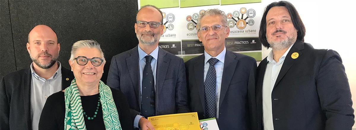 Il DG Bellantoni e il prof. Inturri premiati da Legambiente