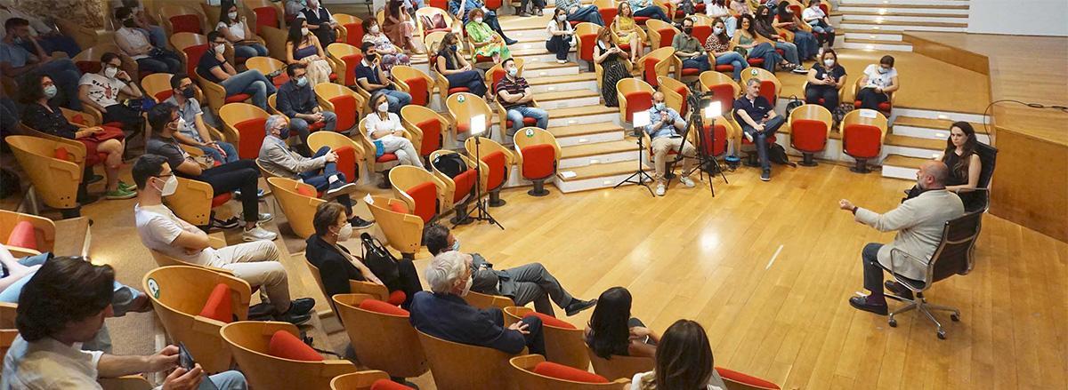 studenti in auditorium