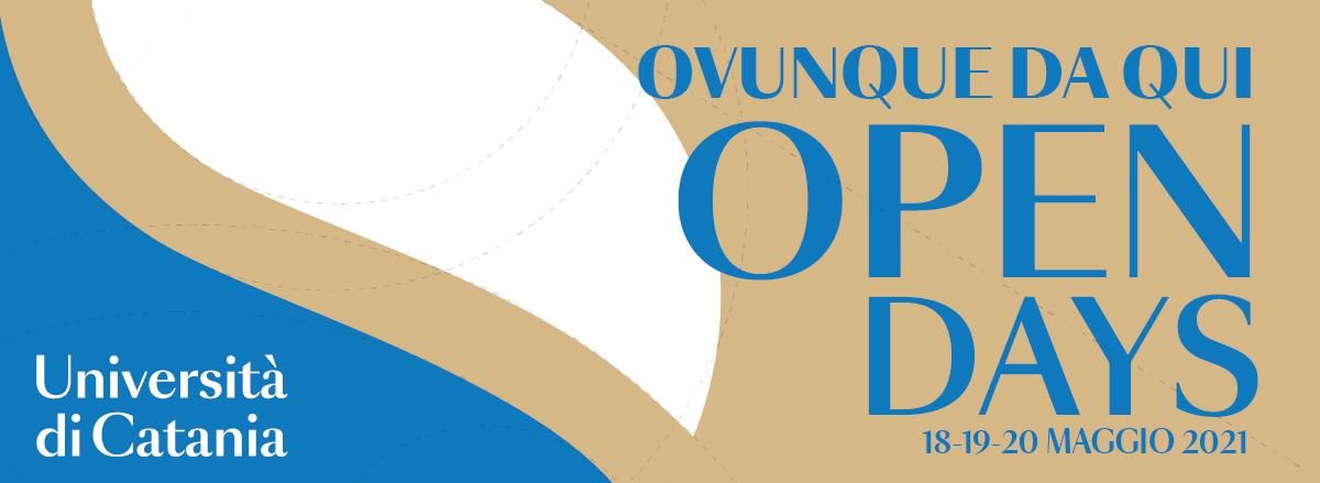banner open days 2021