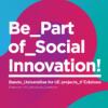logo del bando per mobilità be part of social innovation