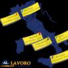 Mappa dell'Italia (AL Lavoro)